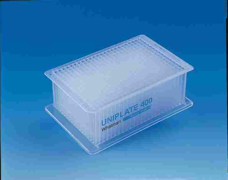 Microbiology Products Multiwell plates TM UNIPLATE Whatman microplates for collection and analysis are available in single, 24, 48, 96 and 384 well formats.