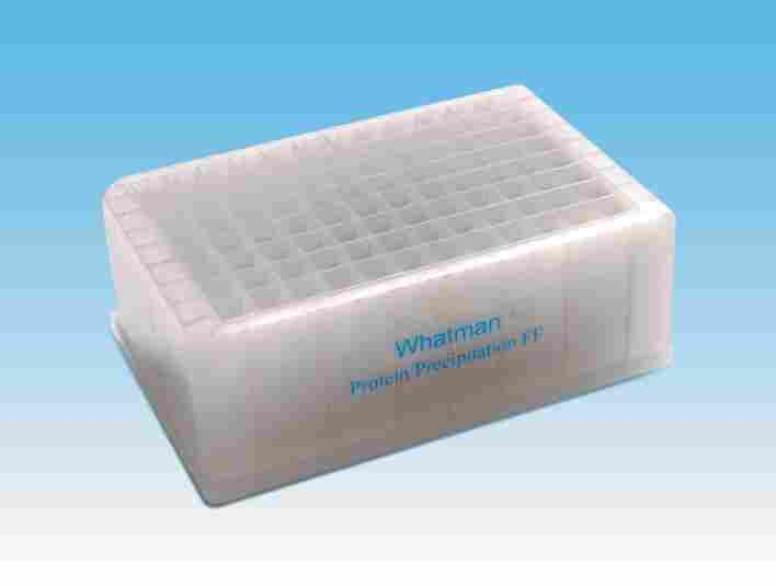 Microbiology Products Multiwell plates Protein Precipitation UNIFILTER FF Protein precipitation UNIFILTER FF is optimized for removing acetonitrile precipitated proteins from plasma / serum samples.