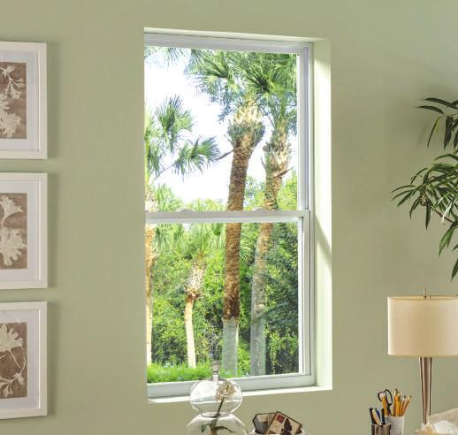 Options & Accessories Color Options American Craftsman windows and patio doors are available in white and beige.