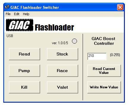 Step 13 PLESE NOTE: GIC Boost Controller software allows you to increase the boost levels of your RSK04 fueling kit.