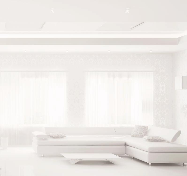 Control, comfort & reassurance QUIET OPERATION Panasonic ducted systems are amongst the