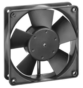 1 General Fan type Rotational direction looking at rotor Airflow direction Bearing system Mounting position Fan clockwise Air outlet over struts Ball bearing any 2 Mechanics 2.