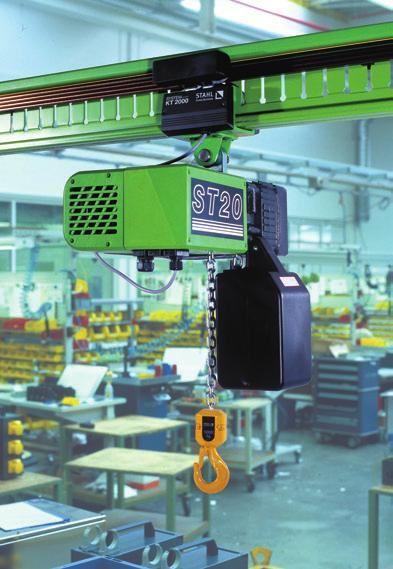 2 The ST10 chain hoist from STAHL CraneSystems for maximum working
