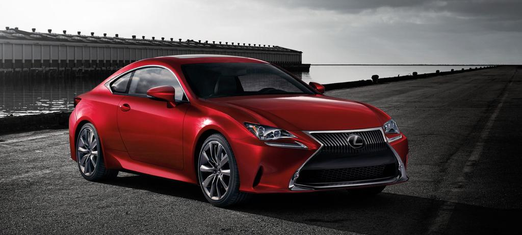 Towing and Road Service Guide For 2015 Lexus RC350/RC 350 F Sport Quality and