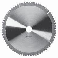 STATIONARY CIRCULAR SAW BLADES EXTREME DEWALT STATIONARY CIRCULAR SAW BLADES Suitable for cutting metal/steel and stainless steel. See individual blades for details.