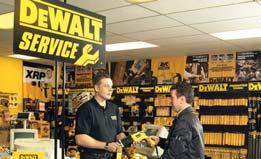 DEWALT 5-STAR SERVICE STARTS WITH CONVENIENCE At the heart of DEWALT s 5 star service promise are its 5 star service agents which are conveniently located throughout the country, with specialists