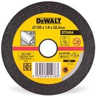BONDED ABRASIVES STAINLESS STEEL AND THIN METAL CUTTING DISCS For cutting all types of steel.