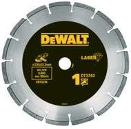 DIAMOND DISCS HIGH PERFORMANCE DIAMOND DISCS For use in standard construction materials including concrete, brick, tiles and paving slabs.