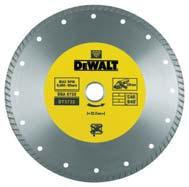 DIAMOND DISCS DRY DIAMOND DISCS Fast, dry cutting of general masonry construction materials eg. building bricks/blocks, tiles, paving blocks, medium concrete.