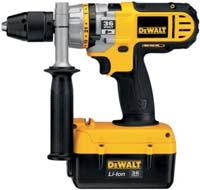6 kg 502 mm *DC235KL not available in the UK 36 Volt Heavy Duty 3 Mode Quick Change Chuck Dedicated Cordless Hammer DC234KL Ideal for drilling anchors and fixing holes into concrete, brick and