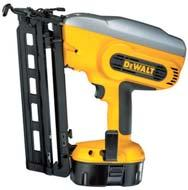 FINISH NAILERS 15 Gauge Angled Finish Nailer D51276K* 5-position indexed depth setting is lockable and repeatable, enabling the user to set the depth and save time and materials Sealed Lube Dual