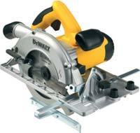 Watts 570 Watts 5000 rpm Blade Diameter 165 mm Blade Bore 20 mm Bevel Capacity 45 Max. Depth of Cut at 90º[with guide rails] 51 mm Max. Depth of Cut at 45º[with guide rails] 37 mm 4.