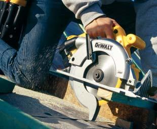 CIRCULAR SAWS / RECIPROCATING SAWS 86mm Depth of Cut Circular Saw D23700 High power, durable motor delivers excellent power even at maximum depth of cut Stable block construction for low vibration