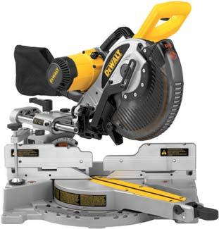 MITRE SAWS 250 mm Slide Compound Mitre Saw DW717XPS Cut Capacities 320 x 76 mm 302 x 88 mm 226 x 76 mm 213 x 88 mm 320 x 50 mm 302 x 58 mm 226 x 50 mm 226 x 50 mm Maximum rear fence vertical cut