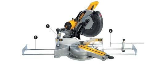 MITRE SAW ATTACHMENTS For DW702 / 713 / 706 / 706E / 708 / 017 / 712 / 716 / 716E / 717 / 718 / D27111 / D27112 Cat. No.