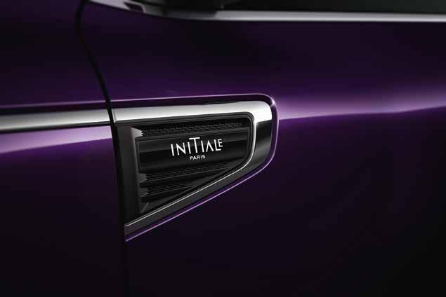 INITIALE Paris An exclusive alliance of elegance and on-board technologies, the All-New