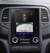 Front and rear parking sensors with rear parking camera All-New Renault Koleos has you covered from all directions with sensors that give you an audible warning when moving or