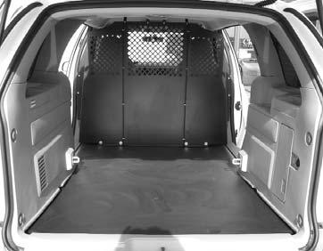 The vehicle s flat loadfloor and underbody spare tire carrier help maximize cargo space Storage provides plenty of cargo volume behind the first-, second- and third-row seats Cargo Volume behind