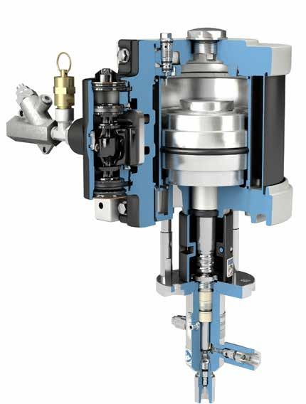 Python XL Pneumatically Operated Pumps Features and Benefits Python XL series pumps are ideal for wells with low gas pressure.