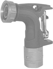 The internal fl ow path is computer designed to provide low pressure drop across the nozzle. Lower pressure drop permits higher fl ow rates at lower pressure, reducing foaming or backups.