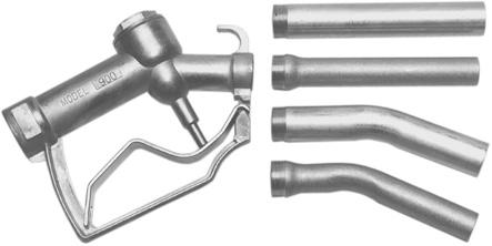 Swivels Bronze Check Valve Hose Swivels Angle Valves for use with volt pumps and gravity fl ow diecast metal body; choice of spouts for economy fuel dispensing, including construction, farm and small
