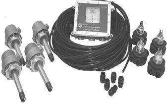 FloTech brand kits provide everything needed to make a professional installation. Systems include; FT0 monitor, FT sensor per compartment, FT0 cable and FT0 (0pcs.) strain reliefs.