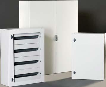 plain or glazed door in over 40 popular sizes, and terminal boxes with plain sides, flanged