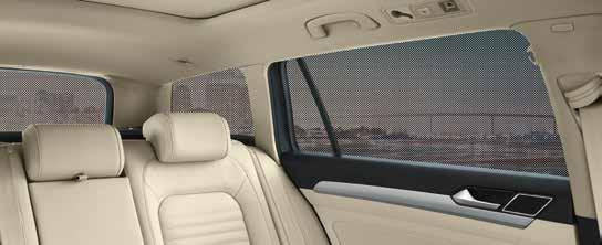 01 Note The specially designed structure of the sun blind provides perfect protection from the sun s rays and effective thermal