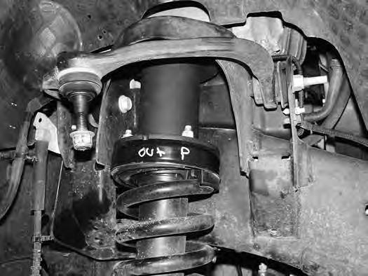 Figure 24B 45. Remove the four hub bolts from the knuckle and remove the hub from the knuckle Figure 25. Inspect mounting surface of the hub assembly and clean any dirt or corrosion off as necessary.