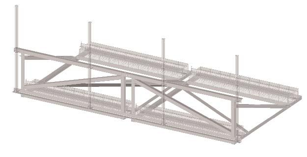 14.2 Non-Penetrating Rooftop Ballast Frame Low Visibility Profile Frames are designed to securely support up to four wireless antennas, while keeping the roof surface damage-free.