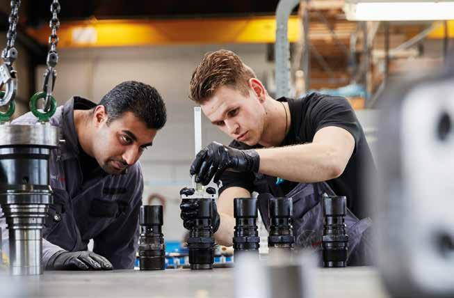 Workshop service Our well trained workshop team takes care for the overhaul/repair of all your engine components at our facilities located in Schiedam (Port of Rotterdam area) and Antwerp.