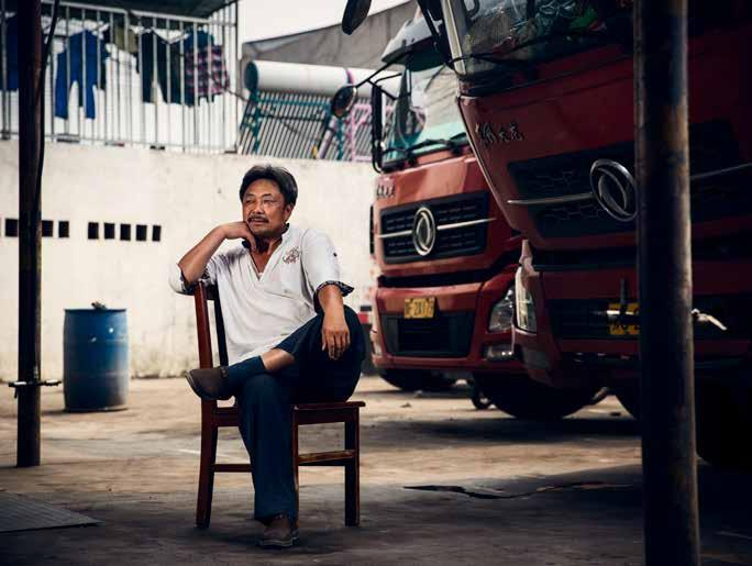 CHINA Yuan Mingfu is a hired driver and has been working as a truck driver for 20 years. He usually hauls decorative stones in Hubei province from his hometown of Suizhou to Wuhan.