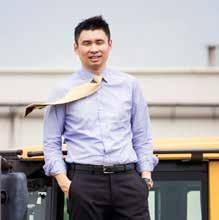 As the China market enters a new phase, he and his team are tasked with positioning Volvo CE for the future.