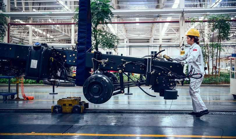 Plants for growing good ideas Since January, the Volvo Group has owned 45 per cent of Donfeng Commercial Vehicles (DFCV), which operates 19 plants in China.