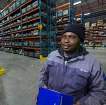 VOLVO GROUP LOGISTICS SERVICES SOUTH AFRICA There are currently 57 industrial workers and 16 office workers working in the
