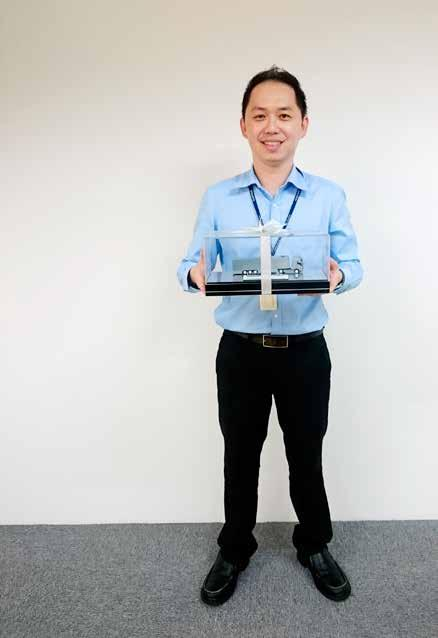 I feel truly honoured to receive the award; it is a wonderful way to express appreciation in addition to raising morale, says Alex Chin, who has been with the Group for almost five years.