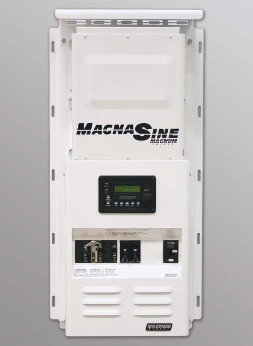 The MMP Mini Magnum Panel is an inclusive, easy-to-install panel designed to work with one Magnum MS-AE,, MS, RD or other non-magnum inverter / charger. FEATURES Small footprint: only 12.