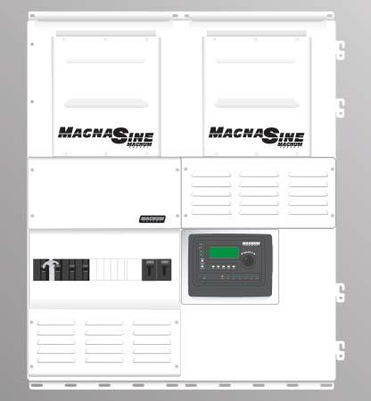 MPSH***-30D Configurations Interconnection System Equipment *** can be either 175 or 250, depending on the inverter model. See page 26 for information on reading Magnum Panel part numbers.