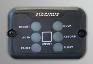 The MM-RC remote control is designed to be simple to install and use.