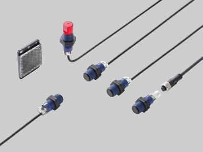 Cylindrical Photoelectric Sensor CY-100 SERIES Listing (2 m cable length type only) Features Wide product range Shape: Standard type Side view type Connector: 2 m cable length type M12 plug-in