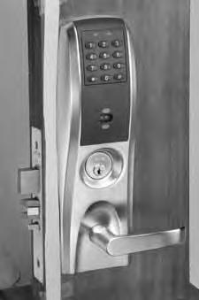 Features The one-piece escutcheon of the motorized mortise lock product has a clean, crisp design and is available with a variety of lever designs and hardware finishes.