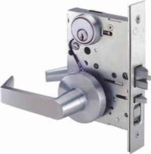 All lock bodies shall conform to Federal Specification FF-H-106 Type 86 and certified to all dimensional specifications of ANSI/BHMA A156.13-2002, Series 1000,.
