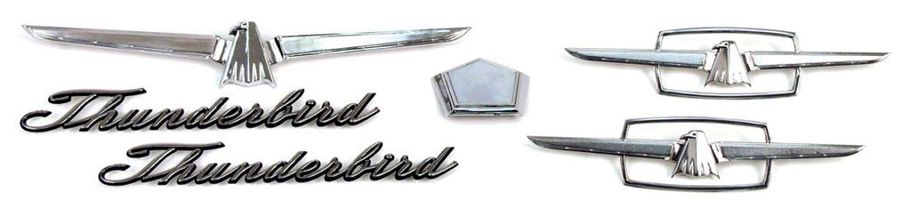 95 64-BB-CK-CON 64, Convertible.....................kit 89.95 64-BB-CK-LAN 64, Landau........................kit 129.95 1964-66 EXTERIOR CHROME TRIM KIT 1 ea. 16637-B Hood Ornament 2 ea.