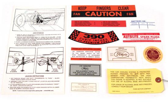 30 D E C A L S DECAL KITS DF41-K 1961, Set of 12 (33, 54, 83, 107, 118, 164, 320, 350, 52, 405, 461, 513).......... kit 19.
