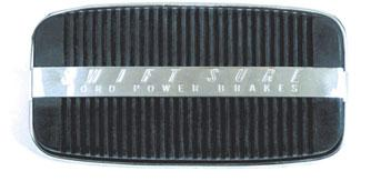 2454-DR 2454-A 2454-E C8SZ-2454-B 2457-B 2454-F 2454-57 PAD - BRAKE OR CLUTCH PEDAL 2454-DR 58, Swift Sure power brakes, FM........ ea. 44.90 2454-A 58/61, FM with man. brakes.............. ea. 18.