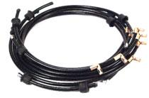 12259 WIRE SET - SPARK PLUG C5AZ-12259-C 61/66, 390 & 428, without smog........... set 55.95 12297-C TYPICAL SPARK PLUG WIRES 12297 SEPARATOR - SPARK PLUG WIRE 12297-C 58/66, Comb type..................... ea.