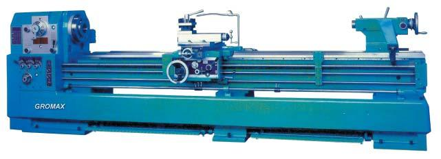 gear box Specifications GLA-1744 GLA-1767 GLA-2280 GLA-22120 Thread & Feed Bed Headstock Tailstock Bed Width 12 15 3/4 Total Travel of Top Slide 4 3/4 7 1/2 Swing over Bed 17 22 Swing over Cross