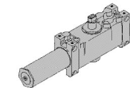 LCN 4010T SERIES CYLINDERS CYLINDER, 4010T-3071 Standard, handed cast iron cylinder assembly. For various applications see Table of Sizes on 4010T Series page 13.