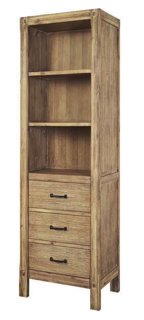 "Accessories - Linen Cabinet Collection: M4 Finish: Natural Walnut 20x16"" Storage Cabinet 20-1/8 x 16 x 65"" (with leg) 20-1/8 x 16 x 60"" (w/o leg) 1505-ST2016 20x16x60"""