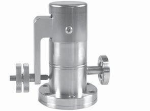 Special Valves UHV gas dosing valves, manual 11LVM all metal UHV gas metering valve with sapphire sealing - precise metering - easy handling manual with handwheel CF flanges - inlet rotatable -